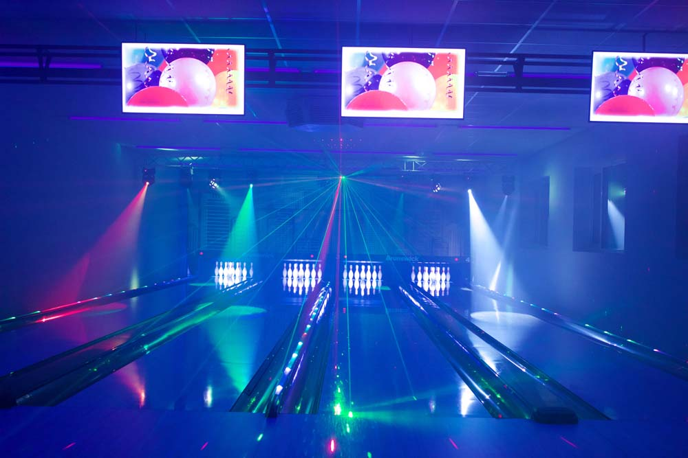 Party Bowling mit Laser